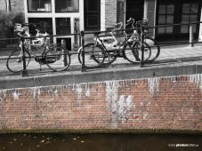 canal and bikes (Amsterdam, The Netherlands 2012)